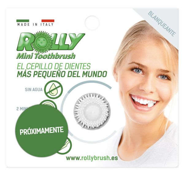 Rolly Mini Toothbrush Blanqueante